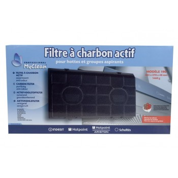 Filtre a charbon pour hottes FAURE CHM510