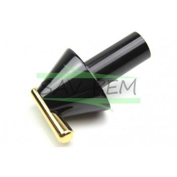 Manette noire pour cuisiniere GLEM XCU150H