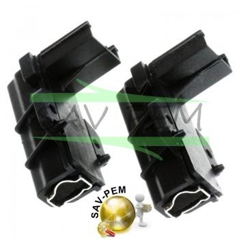 Charbons 97916670 pour moteur lave linge CANDY - HOOVER