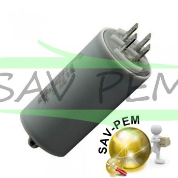 Condensateur de demarrage 16 MF/ 450 VOLT