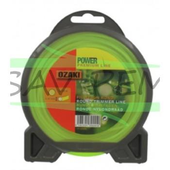Fil nylon rond Ozaki Premium line 1.3mm