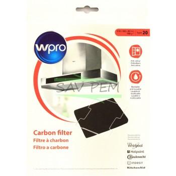 Filtre à charbon WPRO CFW020/1 TYPE 20