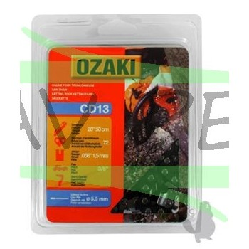 "Chaine de tronçonneuse OZAKI .3/8"" 1.5mm HUSQVARNA - DOLMAR"