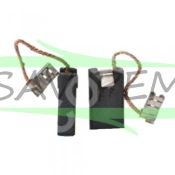 Charbons x2 pour perforateurs BOSCH GBH, GSH, PHB, SPIT 355, 455