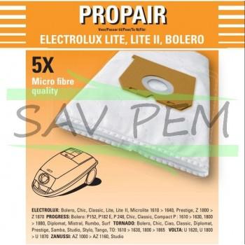 Sac Aspirateur PROGRESS compact - p152 - p153 - p155 - p182