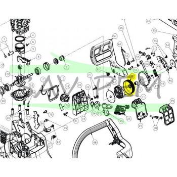Pignon de chaîne tronçonneuses RYOBI PCN4545 / RCS5133CB