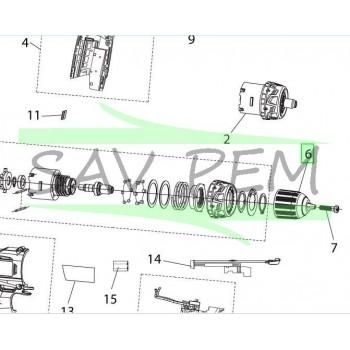 Mandrin automatique visseuses RYOBI RCD12011L / R18PD2-113S