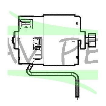 Moteur perceuses / visseuses AEG Powertools BS18C2XLI-202C