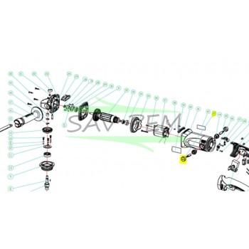 Bouchon porte charbon meuleuse RYOBI EAG8512R - EAG8512RHG