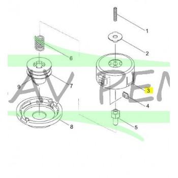 Support de bobine pour coupe bordures RYOBI PBC5043M