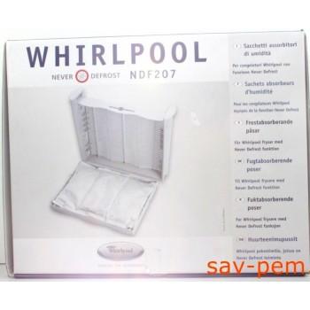 Sachets absorbeur humidite WHIRLPOOL